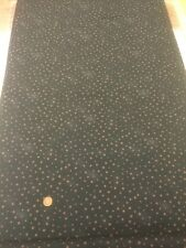 100% cotton quilting Fabric Black Brown Spots Graphix Paint Brush Studio 120-102
