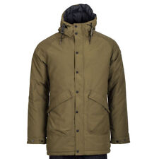 Penfield Kingman Fishtail Insulated Parka Jacket Hooded in Green / Olive - Large