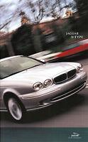 Jaguar X-Type Prospekt 2001 11/01 brochure Autoprospekt Broschüre prospectus Pkw