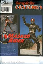 Simplicity 7389 CHILD Masked Rider Hero Costume Pattern Sabans Size 3-8 UNCUT