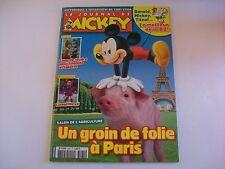 JOURNAL DE MICKEY N°3061 16 FEVRIER 2011 UN GRAIN DE FOLIE A PARIS LIONEL MESSI