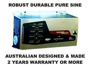 12VDC 1500W 100-230VAC ROBUST SINE INVERTER GERMAN AUSTRALIAN DESIGNED & MADE
