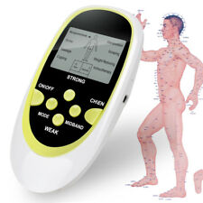 Full Body Electric Tens Massager Digital Therapy Acupuncture w Pads Machine SALE
