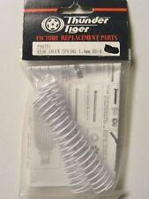 THUNDER TIGER # PD0751 R SHOCK SPRING WHITE 1.4mm (2): EB-4 / EB-4 SC2 PRO BUGGY