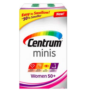 Centrum Minis Women 50+160 Tablets Multivitamin/Multimineral Supplement Ex 05/22