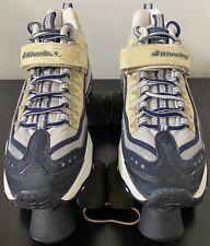 Vintage Skechers 4 wheelers women's blue/gray glitter roller skates size 8.5