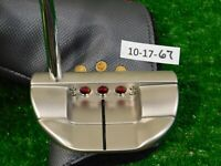 """Titleist Scotty Cameron 2018 Select Fastback 35"""" Putter with Headcover New"""
