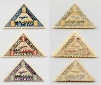 Lithuania 1922 SC C15-C17 mint. rtb4515