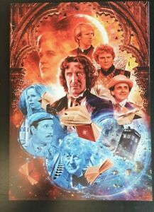 Doctor who v rare poster for zagreus by will brooks .classic who from big finish