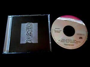 JOY DIVISION/UNKNOWN PLEASURES/GERMAN/CD AUDIO/ML