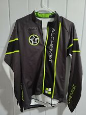 ALCHEMIST jLvelo Bicycle Soft Shell Cycling Shirt Jacket Men Large Long Sleeve