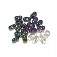Fly Tying Eyes, Glass damsel Twin Eye Beads, choice of colours, For Fly Tying
