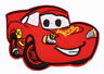 Cars Red Car Iron Sew On Embroidered Patch