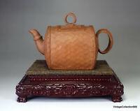 Antique Chinese Teapot Yising Zisha, Chinese teapot Yi Sing, Chinese clay Teapot