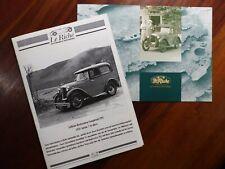 La Riche     Prospekt Brochure Dépliant Prospetto