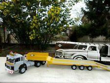 SAURER D 330  camion semi remorque PORTE ENGINS FRIDERICI SUISSE 1/43 Neuf Boite