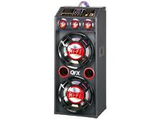 "QFX SBX-412207BT 12"" Amplified PA Speaker System +Bluetooth +USB/SD +Disco Light"