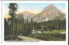 Snoqualmie Pass, Washington PPC, Seattle Terminal Sta.1926 Pictorial PMK to GB