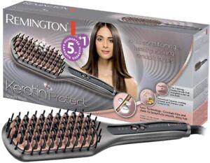 Remington CB7480 Keratin Protect Straightening Brush, Grey