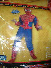 Spiderman movie costume size small 4-6