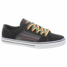 Etnies Boy's RSS Kids Black/Green/Gold Shoe Black UK 4