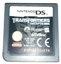 TRASFORMER TRANSFORMERS - Nintendo DS Gioco Game Bambini 3DS Lite Femmine Maschi