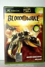 BLOOD WAKE GIOCO USATO OTTIMO STATO XBOX EDIZIONE ITALIANA PAL GD1 35901