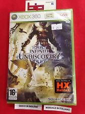 INFINITE UNDISCOVERY XBOX 360 PAL NUOVO SIGILLATO
