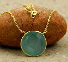 Chalcedony Necklace 4 Pieces Wholesale Lot Solid 925 Sterling Silver Jewelry