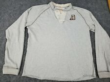 VINTAGE Men's XXL Abercrombie & Fitch Made in USA Sweater Muscle Tee Sweatshirt