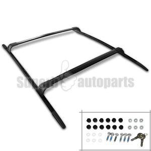 For 2006-2013 Land Range Rover Sport Aluminum Roof Top Cross Bar Rack Black