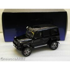 MERCEDES BENZ G500 4x4² GLOSS BLACK AUTOART MODEL 1/18 #76317