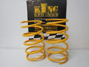 Ultralow Lowered Front KING Springs to suit Commodore VT VX VU VY V6 Models