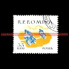 Grand Prix Moto GP RACING Romana Roumanie Timbre Poste Poste Moto Stempel Stamp