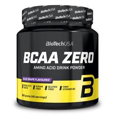 (EUR 51,78/kg) BioTech USA - BCAA Flash ZERO, 360g - Aminosäure, Muskelaufbau -