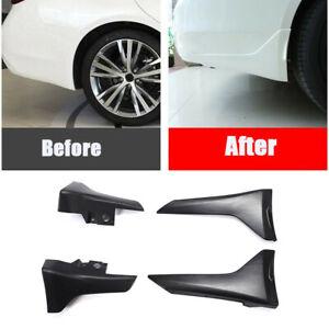 Fit for Infiniti Q50 18-21PP Black Front & Rear Splash Mud Flaps Fender Mudguard