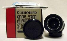 OEM CANON FD f/3.5-4.5 35-70mm Zoom Lens SLR Film Camera DSLR Sony Micro Nex MIB