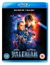 Valerian 3d 2d BD Blu-ray 2019
