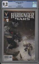 HARBINGER WARS #1 - CGC 9.2 - CLAYTON CRAIN VARIANT - 1 FOR 20 - 1269591019