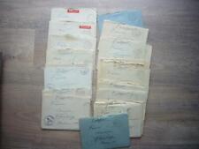 35 x Feldpostbrief 1941 NIENBURG Weser - Kriegsgefangenen Stammlager X C