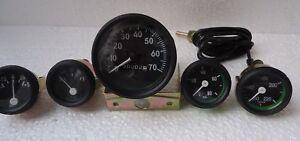 Jeep Gauges Kit - Speedometer 70 mph Willys MB Ford CJ GP Temp Oil Fuel Amp BL