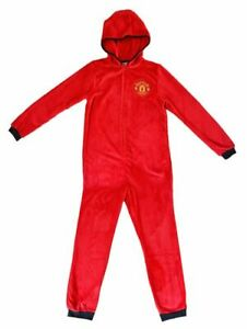 Men`s Manchester United MUFC All In One Nightwear Pyjama - Official Merchandise
