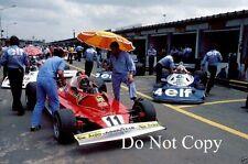Niki Lauda Ferrari 312 T2 F1 1 temporada 1977 fotografía
