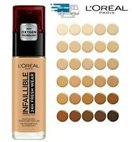 L'oreal Infaillible 24H Fresh Wear Foundation 30ml High Coverage Pick your Shade