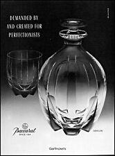 1988 Baccarat Fine Crystal Garfinkel's glassware vintage photo print ad ads18