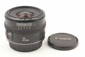 【NEAR MINT】  CANON EF 35mm F/2 AF MF Wide Angle EF EOS Mount Lens from Japan