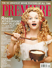 Premiere Magazine August 2001 Reese Witherspoon Woody Harrelson EX 012216jhe