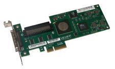 HP 439776-001 LSI20320IE PCI-E x4 Ultra 320 scsi tarjeta HBA de canal único