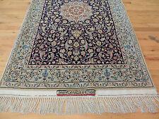 RARE 3x5 Persian Isfahan Serafian wool/silk SIGNED Antique  Oriental Area Rug
