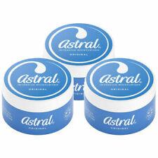3 x Astral - Original Face Hands Body Moisturiser - All Over Cream - 50ml